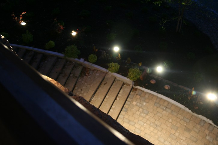 Bucy electric llc gallerybucy electric for Electric walkway lights